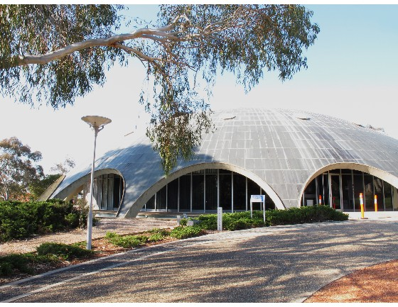 The Conference venue, the Shine Dome, Canberra