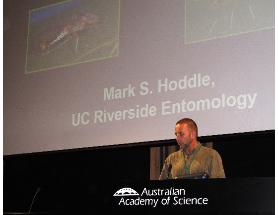 Invited key speaker Dr Mark Hoddle USA