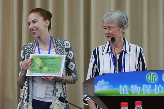 Young scientist awards – Dr Magdalena Felska (Biology Institute, Wroclaw University of Environmental and Life Sciences, Poland)