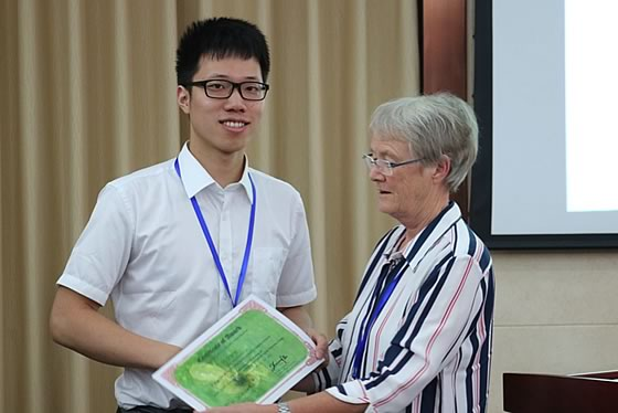 Young scientist awards - Dr Yaying Li (Southwest University, China)