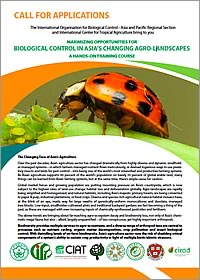 Hands-On Training Course, IOBC-APRS & CIAT, 2nd - 9th September 2017: 