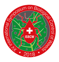 ISBCW 2018, XVth International Symposium on Biological Control of Weeds, 26-31 August 2018, Engelberg, Switzerland