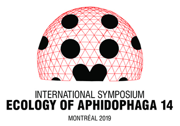 14th International Symposium Ecology of Aphidophaga, 16-20 September 2019, Montreal (Quebec), Canada.