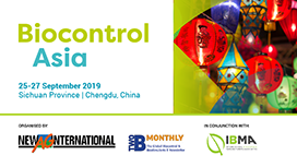 Biocontrol Asia 2019, 25-27 September 2019, Chengdu, Sichuan Province, China.
