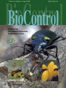 BioControl - official journal of the International Organization for Biological Control (IOBC).